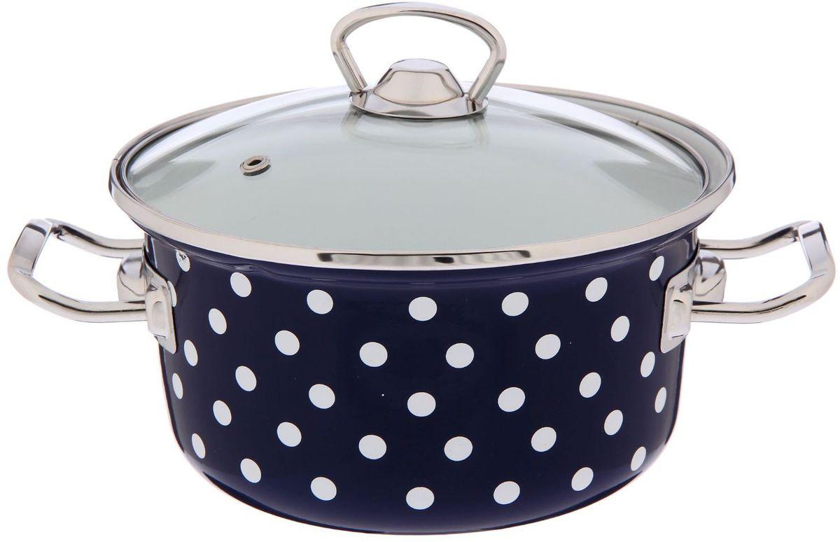 Кастрюля Epos Саксония, с крышкой, 2 л54 009305Эмалированная кастрюля пригодится вам для быстрого приготовления разных типов блюд. Такая посуда подходит для домашнего и профессионального использования.Достоинства:посуда быстро и равномерно нагревается;корпус стоек к ржавчине;изделие легко отмывается в посудомоечной машине.Благодаря приятным цветам кастрюля удачно впишется в любой дизайн интерьера. Наилучшее качество покрытия достигается за счёт того, что посуда проходит обжиг при температуре до 800 градусов.Чтобы предмет сохранял наилучшие эксплуатационные свойства, соблюдайте правила ухода:избегайте ударов и падений;не пользуйтесь высокоабразивными чистящими средствами;не допускайте резких перепадов температуры.Посуда подходит для долговременного хранения пищи.