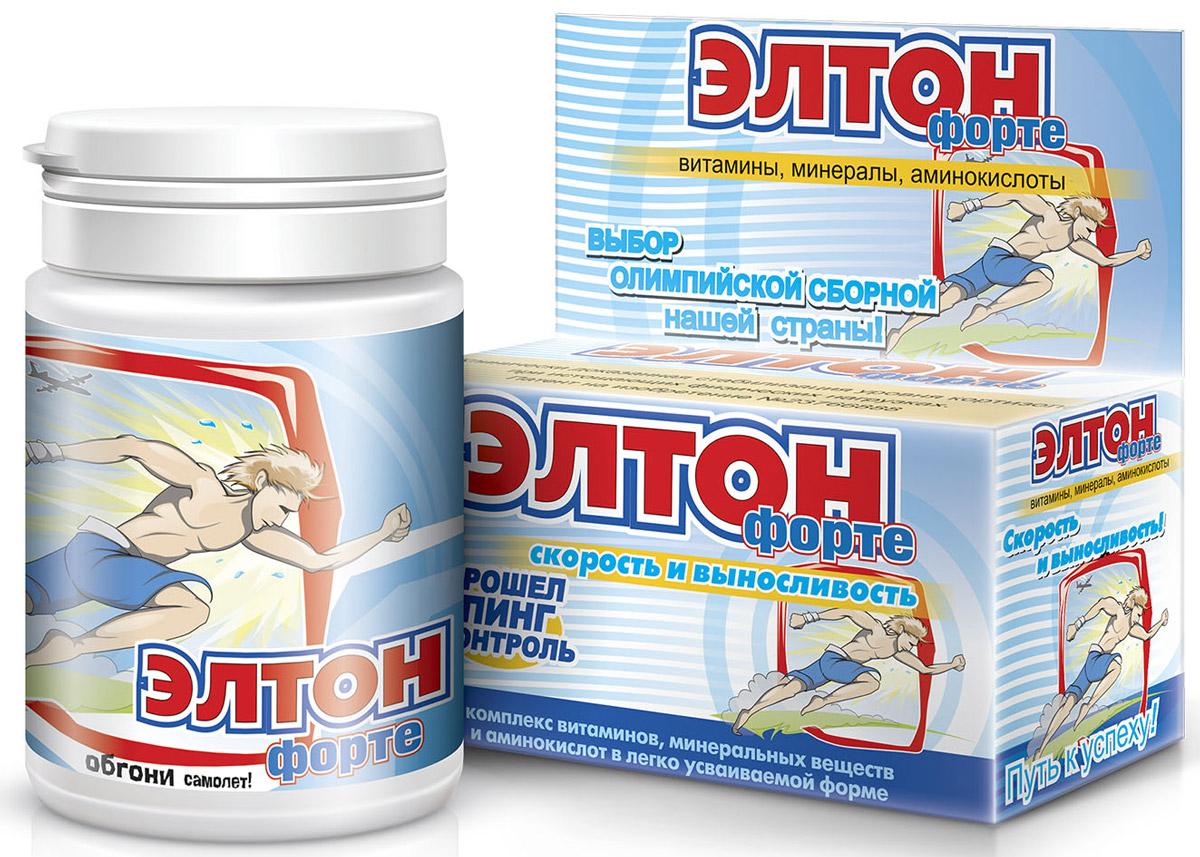 Элтон-форте, с L-карнозином и маточным молочком, 0,5 г, №60 - Аптека