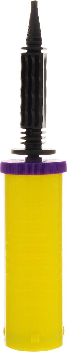 Веселая затея Насос ручной для воздушных шаров цвет желтый