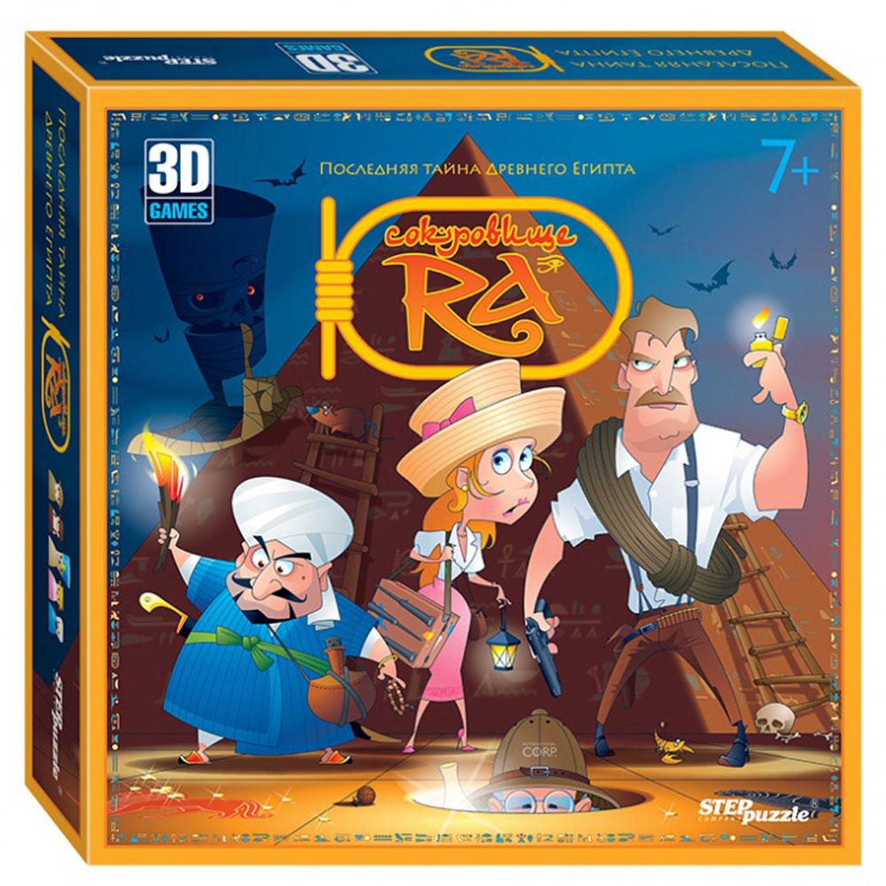 Step Puzzle Обучающая игра 3D Сокровище Ра амон ра легенда о камне купить