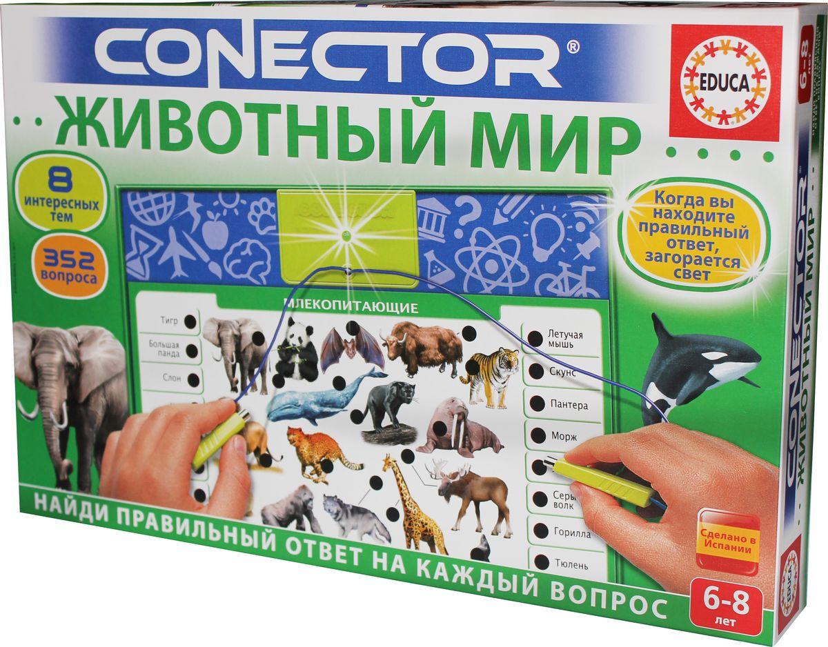 Educa Электровикторина Животный мир развивающая игра пазл educa животные