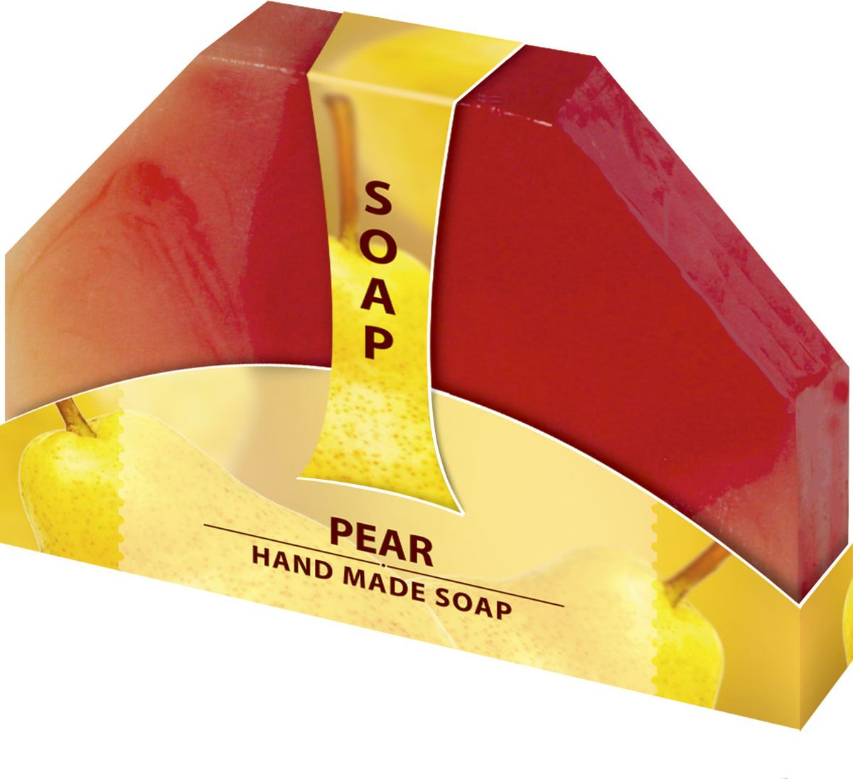 Мыло ручной работы Груша Hand made spa collection, 80 гFS-00610Мыло из нежного природного пальмового масла, содержит натуральный экстракт Аптечной Ромашки. Имеет приятный фруктовый аромат, который наполнит вашу душу удовольствием. Наслаждайтесь гладкостью кожи после каждого использования.