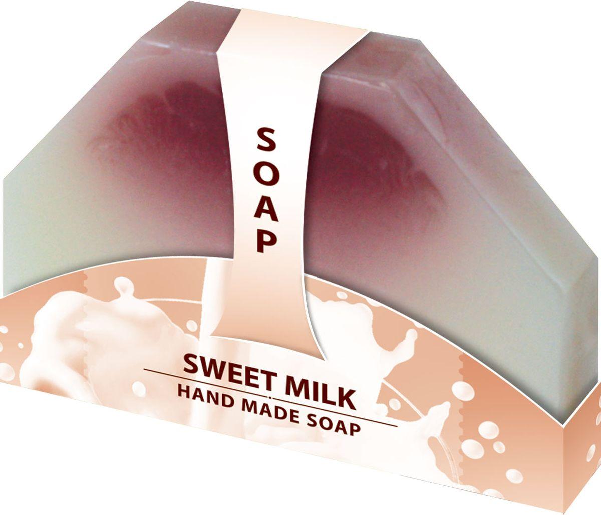 Мыло ручной работы Сладкое молоко Hand made spa collection, 80 г6000810Мыло из нежного природного пальмового масла, содержит натуральный экстракт Розмарина, имеет аромат молока, даря коже шелковистую нежность. Расслабляет кожу и способствует ее восстановлению.
