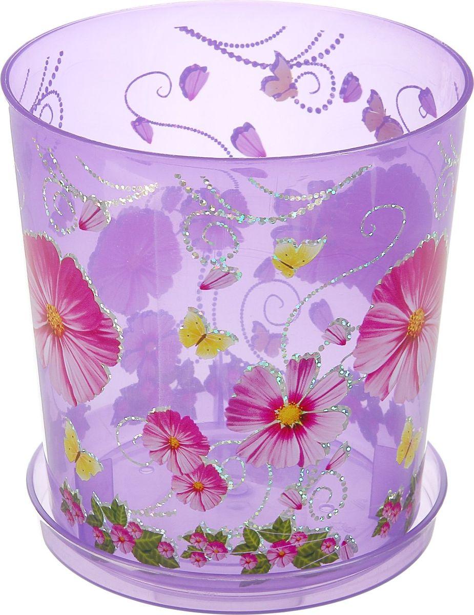 Горшок Альтернатива Камилла, цвет: прозрачный, фиолетовый, 1,8 л4607940900528Любой, даже самый современный и продуманный интерьер будет не завершённым без растений. Они не только очищают воздух и насыщают его кислородом, но и заметно украшают окружающее пространство. Такому полезному &laquo члену семьи&raquoпросто необходимо красивое и функциональное кашпо, оригинальный горшок или необычная ваза! Мы предлагаем - Горшок для орхидей 1,8 л Камилла, поддон, прозрачно-фиолетовый!Оптимальный выбор материала &mdash &nbsp пластмасса! Почему мы так считаем? Малый вес. С лёгкостью переносите горшки и кашпо с места на место, ставьте их на столики или полки, подвешивайте под потолок, не беспокоясь о нагрузке. Простота ухода. Пластиковые изделия не нуждаются в специальных условиях хранения. Их&nbsp легко чистить &mdashдостаточно просто сполоснуть тёплой водой. Никаких царапин. Пластиковые кашпо не царапают и не загрязняют поверхности, на которых стоят. Пластик дольше хранит влагу, а значит &mdashрастение реже нуждается в поливе. Пластмасса не пропускает воздух &mdashкорневой системе растения не грозят резкие перепады температур. Огромный выбор форм, декора и расцветок &mdashвы без труда подберёте что-то, что идеально впишется в уже существующий интерьер.Соблюдая нехитрые правила ухода, вы можете заметно продлить срок службы горшков, вазонов и кашпо из пластика: всегда учитывайте размер кроны и корневой системы растения (при разрастании большое растение способно повредить маленький горшок)берегите изделие от воздействия прямых солнечных лучей, чтобы кашпо и горшки не выцветалидержите кашпо и горшки из пластика подальше от нагревающихся поверхностей.Создавайте прекрасные цветочные композиции, выращивайте рассаду или необычные растения, а низкие цены позволят вам не ограничивать себя в выборе.
