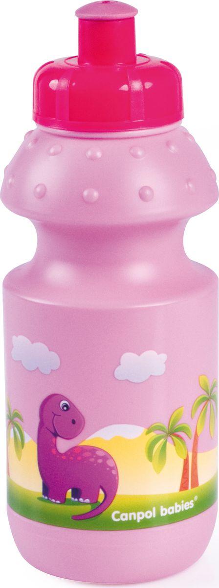 Canpol babies Поильник спортивный цвет розовый 360 мл