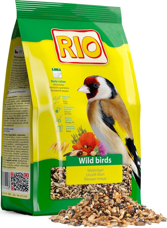 Корм для лесных певчих птиц Rio, 500 г0120710Корм Rio - тщательно сбалансированная зерновая смесь для ежедневного кормления щеглов, чижей и других видов лесных птиц. Разнообразный состав включает семена, которыми лесные птицы питаются в природе, в том числе семена чертополоха, периллы, абиссинского нуга и других растений. Такой корм обеспечит птицу всеми необходимыми питательными веществами. Товар сертифицирован.