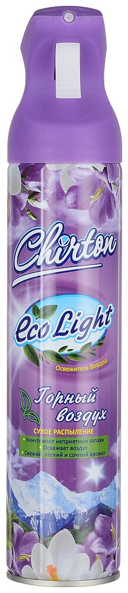 Освежитель воздуха Chirton ЭКО Лайт Горный воздух 280мл106-026Чиртон представляет новейшую серию освежителей для вашего дома с его незабываемыми ароматами на любой вкус. Высокое качество позволит быстро избавиться от неприятных запахов в любом уголке вашего дома. Современный дизайн и силуэт. УВАЖАЕМЫЕ КЛИЕНТЫ! Обращаем ваше внимание на возможные изменения в дизайне упаковки. Качественные характеристики товара и его размеры остаются неизменными. Поставка осуществляется в зависимости от наличия на складе.