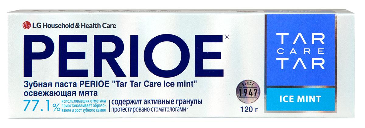 Perioe Зубная паста Tar Tar сare ice mint освежающая мята 120 г1007-02-02Уменьшает образования зубного камня, а так же препятствует его дальнейшее развитие.Протестировано стоматологами. Эффективность подтверждена клиническими испытаниями.