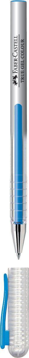 Faber-Castell Ручка гелевая True Gel цвет чернил голубой242650Гелевая ручка Faber-Castell True Gel имеет наконечник 0,7 мм. Ручка обладает очень мягким письмом.Ручка имеет водостойкие и светостойкие чернила; эргономичную зону захвата; колпачок с упругим клипом.