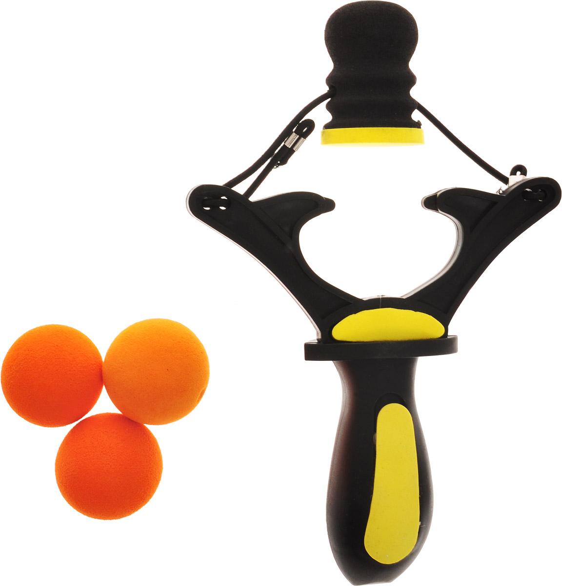 ABtoys Игровой набор Рогатка с 3 шариками