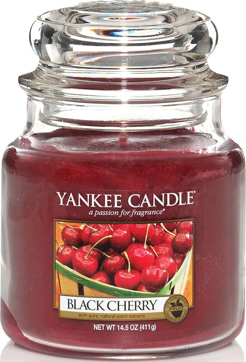 Ароматическая свеча Yankee Candle Черная черешня / Black Cherry, 65-90 чБрелок для ключейАбсолютно вкусная сладость богатой, спелой черной вишни.Верхняя нота: Вишня, МиндальСредняя нота: Вишня, КорицаБазовая нота: Черешня
