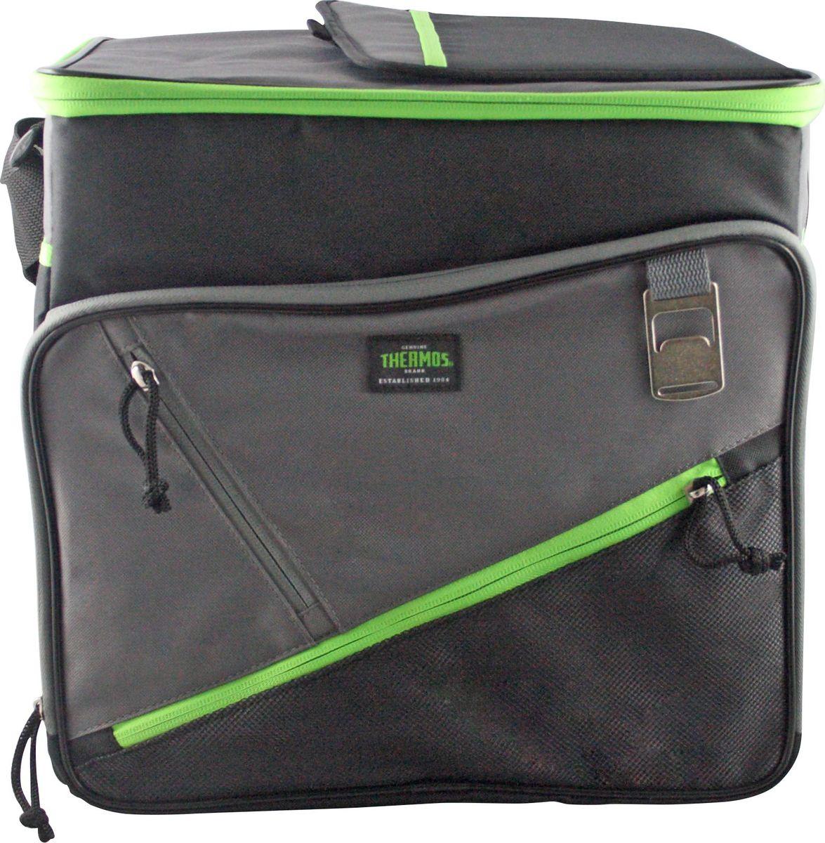 Сумка-термос Thermos Berkley 36 Can Cooler, цвет: зеленый, 30 лKOC-H19-LEDТермо-сумка отличается легкостью и компактностью. Все сумки складываются и фиксируются в сложенном положении что облегчает хранение. Внутреннее наполнение стенок позволяет сохранять продукты замороженными, свежими или теплыми длительное время. Внутренняя поверхность обладает 100% герметичностью. При перевозке жидкостей это позволяет избежать протеканий.