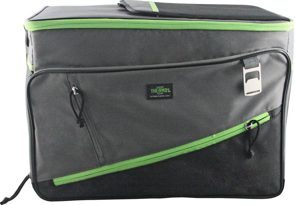 Сумка-термос Thermos Berkley 48 Can Cooler, цвет: зеленый, 33 л67742Термо-сумка отличается легкостью и компактностью. Все сумки складываются и фиксируются в сложенном положении что облегчает хранение. Внутреннее наполнение стенок позволяет сохранять продукты замороженными, свежими или теплыми длительное время. Внутренняя поверхность обладает 100% герметичностью. При перевозке жидкостей это позволяет избежать протеканий.