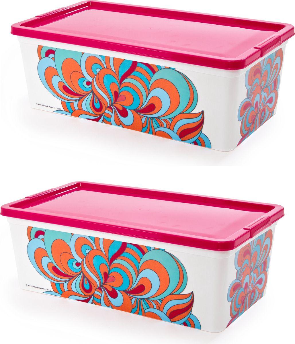 Комплект контейнеров Полимербыт Домашний, 5,5 л, 2 шт. SGHPBKP38010503Комплект из 2х контейнеров Домашний: объемом для мелочей 5,5л. Многофункциональный, пригодиться в быту для любых случаев. Удобные в использовании и хранении.