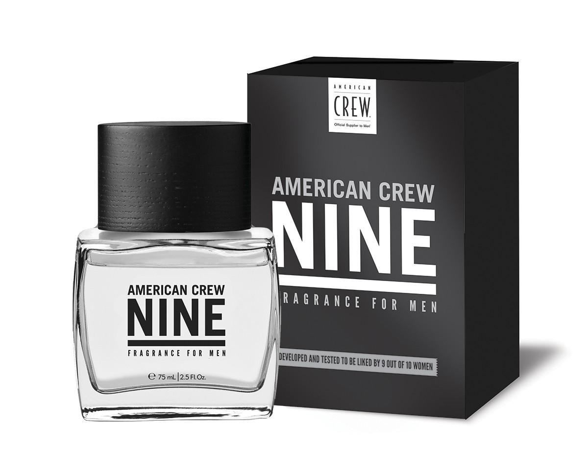 American Crew Nine Туалетная вода для мужчин, 75 мл1504MBУникальный аромат, благодаря которому перед Вами не устоят 9 женщин из 10.Включает в себя запахи яблока, лаванды, кедрового дерева и янтаря.