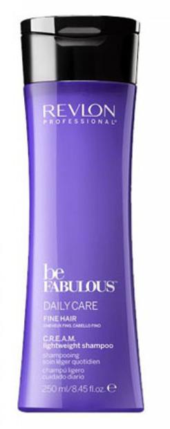 Revlon Professional Be Fabulous C.R.E.A.M. Shampoo For Fine Hair Очищающий шампунь для тонких волос, 250 млFS-00897Профессиональный шампунь для ежедневного очищения тонких волос испанского бренда Revlon Professional. Содержит QUATERNIUM-22, кератин, пантенол, витамин Е и бетаин. Предназначен для ежедневного мягкого очищения волос, обладает мультиухаживающим эффектом: обеспечивает сохранение цвета (за счет комплекса УФ-фильтров), восстановление (кератин в составе), блеск без утяжеления (благодаря пантенолу), антивозрастной эффект (витамин Е) и увлажнение (бетаин). Имеет приятное сочетание ароматов бергамота, мускуса, фрезии.Применение: нанести небольшой объем очищающего шампуня для тонких волос Revlon, вспенить, тщательно промыть теплой водой. Для достижения эффекта профессионально ухоженных сияющих волос рекомендуется дополнительное использование кондиционера и маски для тонких волос серии Be Fabulous Cream Revlon.Объем: 1000 мл