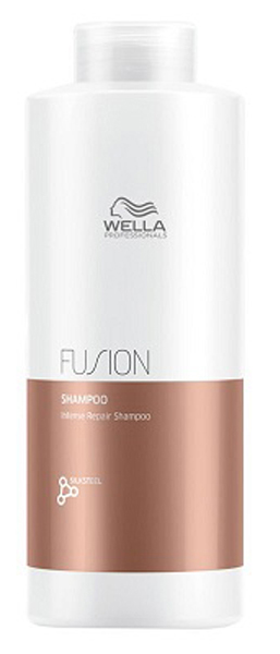 Wella Professionals Fusion Shampoo Интенсивно восстанавливающий шампунь, 1000 млFS-00897Шампунь из новой линии для интенсивного восстановления волос представляет собой средство очищения из 3-этапного сервиса длительностью 20 минут, который включает в себя - подготовку (очищение), уход и запечатывание кутикулы волоса (может проводиться с применением климазона или вапоризатора). Эта изысканная премиальная процедура с применением эксклюзивной амино-сыворотки Fusion способствует интенсивному восстановлению волос, делает их эластичными и защищает от дальнейших повреждений.Очень нежный шампунь, который интенсивно ухаживает за поврежденными волосами, одновременно очищая их. Шампунь с технологией EDDS, микронизированными липидами и аминокислотами шелка.Способ применения: Нанесите небольшое количество шампуня от Велла на влажные волосы, помассируйте кожу головы и тщательно смойте средство теплой водой. При необходимости повторите процедуру еще раз.Объем: 1000 мл