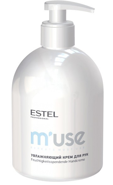 Estel Увлажняющий крем для рук MUSE Handcreme, 475 мл100521Эффективно увлажняет, питает, восстанавливает мягкость и эластичность кожи.
