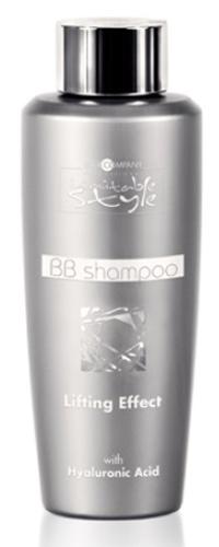 Hair Company Professional Inimitable Style BB Shampoo Шампунь, 250 млFS-00897Шампунь для волос с лифтинг эффектом для блеска, мягкости и восстановления волос. Получите великолепный уход для Ваших локонов! Состав обогащен концентрированной гиалуроновой кислотой, кератином и аргановым маслом. В составе с чистая гиалуроновая кислота, что гарантирует мгновенное ативозрастное действие. Дополнительное присутствие масло аргана и кератин-гидратов - восстанавливает и придает блеск волосам. Шампунь отлично смягчает волосы, поэтому особенно хорош для жестких локонов. Не содержит парабеныРезультат: Волосы восстановлены и выглядят заметно более здоровым, помолодевшими.Способ применения:Нанесите на влажные волосы, помассируйте. Оставить на 2-3 минуты, затем смойте. Повторите операцию, если необходимо.Объем: 250 мл