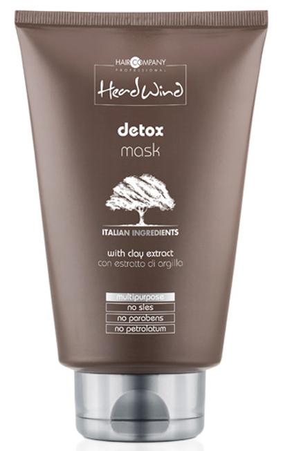 Hair Company Professional Head Wind Detox Mask Детокс-маска, 200 млFS-00897Детокс-маска для волос Hair Company Professional Head Wind Detox Mask - профессиональный препарат, который отличается противовоспалительными, увлажняющими и питательными характеристиками.Средство идеально подходит для восстановления и ухода за жирными и сухими, склонными к ломкости волосами. Его формула разработана на базе итальянской глины, обладающей нежным ментоловым ароматом, освежающим кожный покров и глубоко его очищающим.Способ применения:Нанести небольшой объем детокс маски на чистые мокрые волосы, оставить на 3-5 минут, тщательно смыть теплой водой. Для максимального эффекта здоровых волос рекомендуется использование дополнительных уходовых средств серии Head Wind.Объем: 200 мл