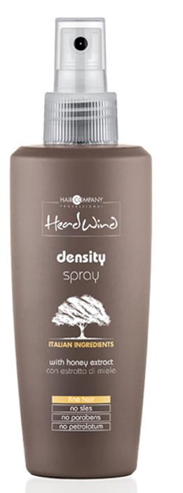 Hair Company Professional Head Wind Density Spray Спрей, придающий объём, 200 млFS-00897Утолщайте волосяные стержни по всей длине, увеличивая объем прически и облегчая процесс укладки! Попробуйте профессиональный спрей Head Wind Density на основе меда итальянского бренда Hair Company.Особенности продукта:• Облегчает процесс расчесывания и укладки.• Обладает увлажняющими и витаминизирующими свойствами.• Идеально подходит для ухода за тонкими волосами.• Утолщает волосяные стержни по всей длине, не утяжеляя и не склеивая их.• Формула спрея основана на экстракте пчелиного меда и обогащена высокими питательными и уплотняющими свойствами.• Имеет приятный медовый аромат.Способ применения:• Распылить небольшой объем спрея на чистые подсушенные волосы с расстояния 30-50 см, не смывать. Уложить как обычно.• Для максимального эффекта объемных плотных волос рекомендуется использование дополнительных уходовых средств серии Head Wind Density.Объем: 200 мл