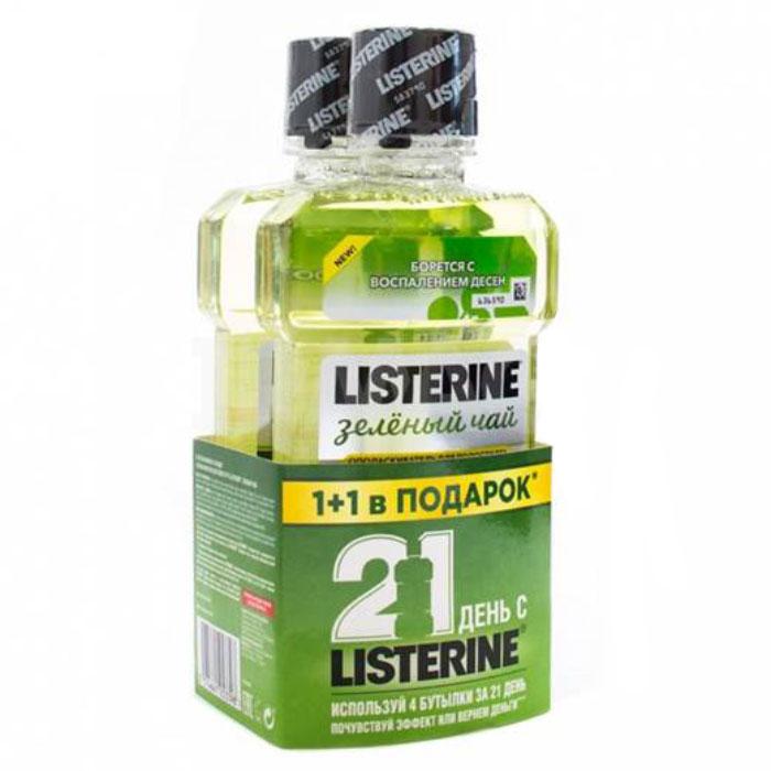 Listerine Ополаскиватель для полости рта Зеленый чай, 250 мл84850536_золушка/голубой, розовыйListerine Ополаскиватель для полости рта Зеленый чай, 250 мл