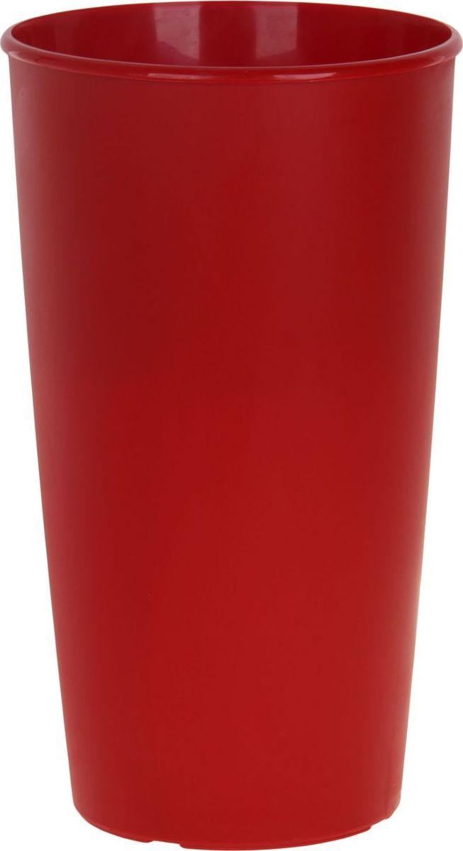 Горшок для цветов ТЕК.А.ТЕК Le Cone, цвет: красный, 41 лNLED-454-9W-BKЛюбой, даже самый современный и продуманный интерьер будет не завершённым без растений. Они не только очищают воздух и насыщают его кислородом, но и заметно украшают окружающее пространство. Такому полезному члену семьи просто необходимо красивое и функциональное кашпо, оригинальный горшок или необычная ваза! Мы предлагаем - Горшок для цветов Le Cone 41 (18) л, цвет красный! Оптимальный выбор материала пластмасса! Почему мы так считаем? Малый вес. С лёгкостью переносите горшки и кашпо с места на место, ставьте их на столики или полки, подвешивайте под потолок, не беспокоясь о нагрузке. Простота ухода. Пластиковые изделия не нуждаются в специальных условиях хранения. Их легко чистить достаточно просто сполоснуть тёплой водой. Никаких царапин. Пластиковые кашпо не царапают и не загрязняют поверхности, на которых стоят. Пластик дольше хранит влагу, а значит растение реже нуждается в поливе. Пластмасса не пропускает воздух корневой системе растения не грозят резкие перепады температур. Огромный выбор форм, декора и расцветок вы без труда подберёте что-то, что идеально впишется в уже существующий интерьер. Соблюдая нехитрые правила ухода, вы можете заметно продлить срок службы горшков, вазонов и кашпо из пластика: всегда учитывайте размер кроны и корневой системы растения (при разрастании большое растение способно повредить маленький горшок)берегите изделие от воздействия прямых солнечных лучей, чтобы кашпо и горшки не выцветалидержите кашпо и горшки из пластика подальше от нагревающихся поверхностей. Создавайте прекрасные цветочные композиции, выращивайте рассаду или необычные растения, а низкие цены позволят вам не ограничивать себя в выборе.