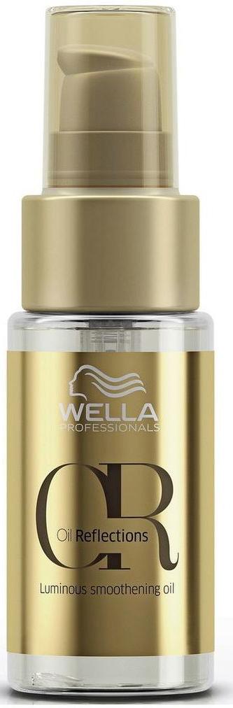 Wella Oil Reflections Luminous Smoothening Oil Разглаживающее масло для интенсивного блеска волос, 30 мл7221484000Совершенное масло для придания гладкости и сияющего блеска волосам. С маслами макадамии и авокадо.Объем: 30 мл