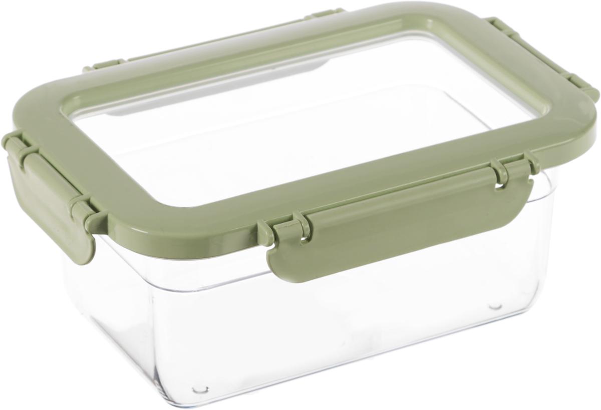 Контейнер для продуктов Herevin, цвет: светло-зеленый, прозрачный, 1 л161425-500_зеленыйКонтейнер для продуктов Herevin изготовлен из качественного пищевого пластика без содержания BPA. Крышка с 4 защелками плотно и герметично закрывается, что позволяет сохранять продукты свежими долгое время. Такой контейнер подойдет для использования дома, его можно взять с собой на работу, учебу, в поездку. Можно использовать в микроволновой печи без крышки, ставить в холодильник. Нельзя мыть в посудомоечной машине.
