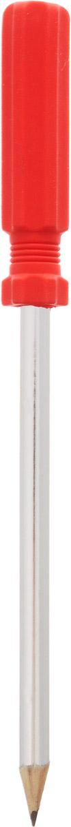Brunnen Карандаш чернографитный Отвертка с ластиком цвет коралловый27374 BLN_серебристый, коралловыйЧернографитный карандаш Brunnen Отвертка будет незаменим и для деток, которые только начинают рисовать, и для школьников. Его стильный круглый корпус сделан из натурального дерева с блестящим покрытием. Сверху имеется оригинальный ластик в виде отвертки. Карандаш имеет очень прочный грифель самого высокого качества, который не крошится и не ломается при заточке. Такой забавный письменный аксессуар идеально лежит в руке и подарит массу удовольствия во время письма или рисования.