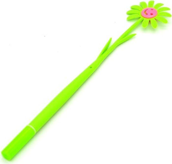 Карамба Ручка шариковая гнущаяся Цветок цвет корпуса зеленый синий004776Шариковая гнущаяся ручка Карамба Цветок на первый взгляд - милая безделушка, однако, это незаменимый предмет на любом рабочем столе. Ручка выполнена из прочного пластика в виде цветка. Шариковая ручка обеспечит четкий цвет и мягкое письмо.