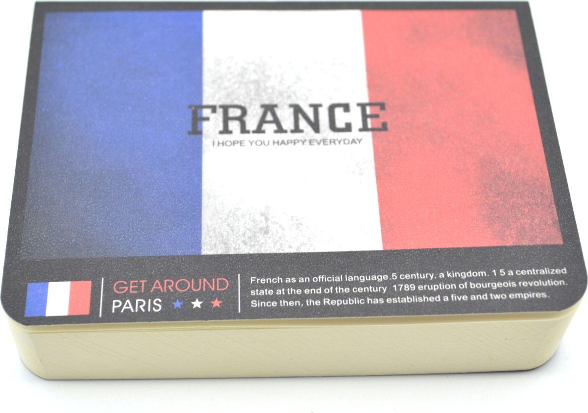 Карамба Блокнот Страны Франция 185 листов72523WDСтильный блокнот с белыми нелинованными страницами. 185 листов.