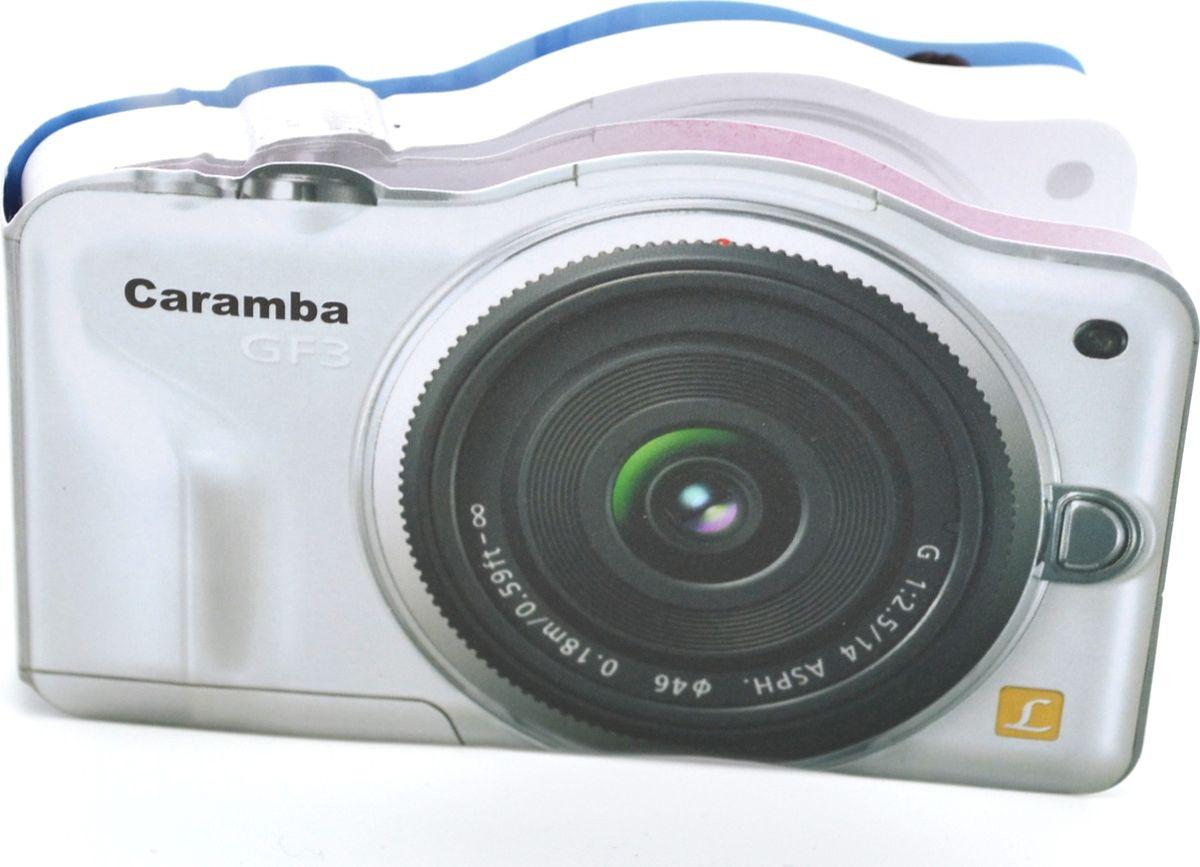 Карамба Блокнот Фотоаппарат Caramba 100 листов3557Блокнот Карамба Фотоаппарат Caramba - незаменимый атрибут современного человека, необходимый для рабочих и повседневных записей в офисе и дома. Блокнот содержит 100 листов.Блокнот станет достойным аксессуаром среди ваших канцелярских принадлежностей. Такой блокнот пригодится как для деловых людей, так и для любителей записывать свои мысли, писать мемуары или делать наброски новых стихотворений.