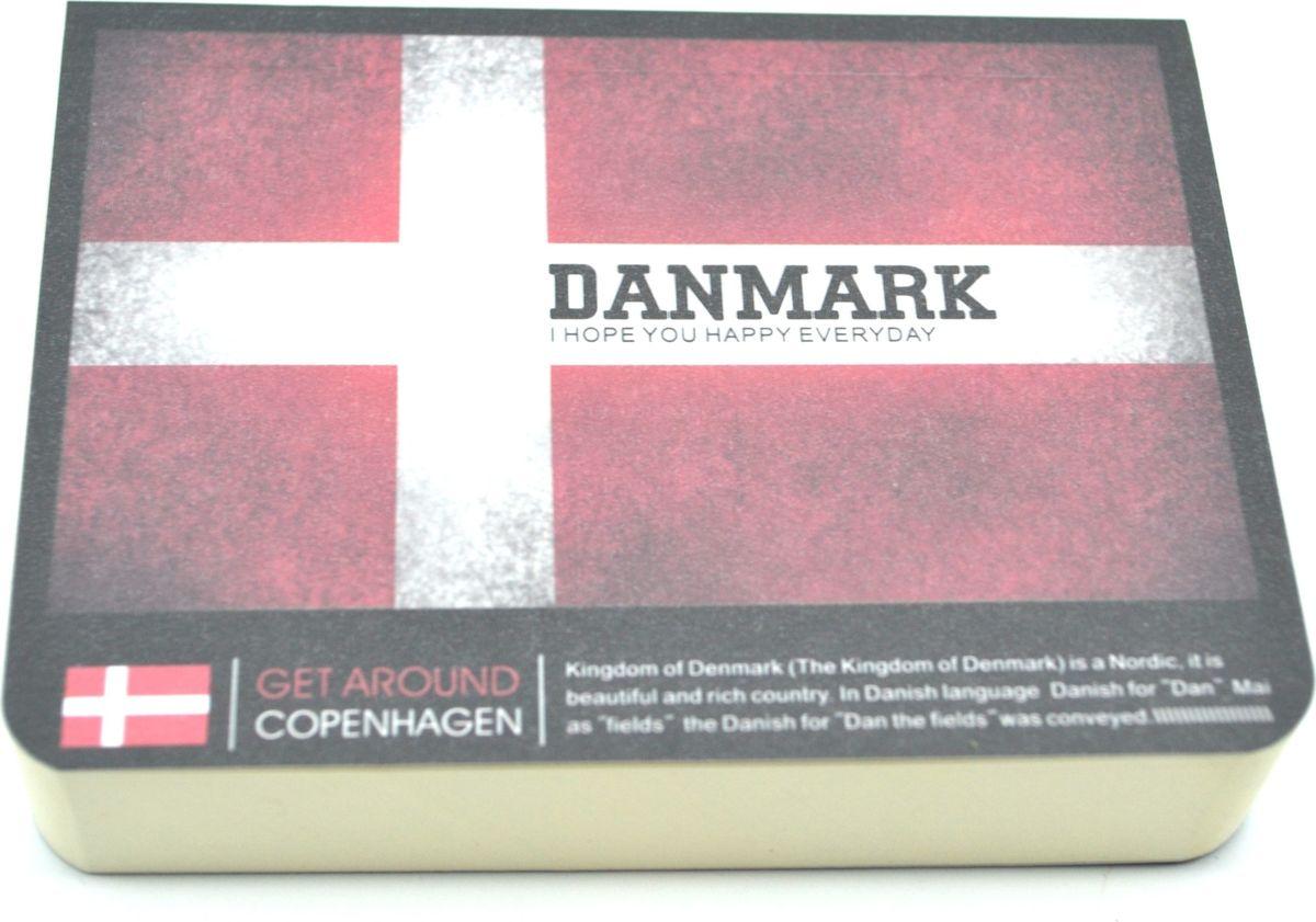 Карамба Блокнот Страны Дания 185 листов72523WDСтильный блокнот с белыми нелинованными страницами. 185 листов.