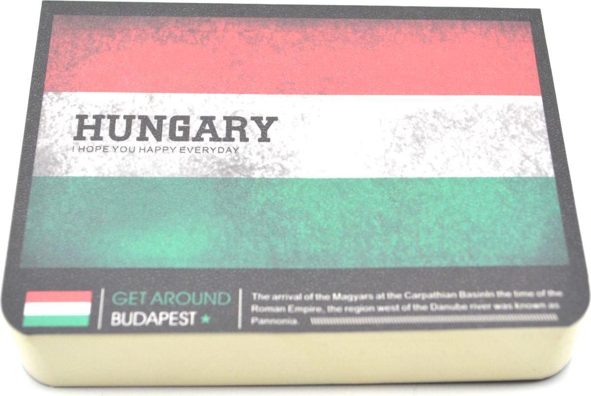 Карамба Блокнот Страны Венгрия 185 листов72523WDСтильный блокнот с белыми нелинованными страницами. 185 листов.