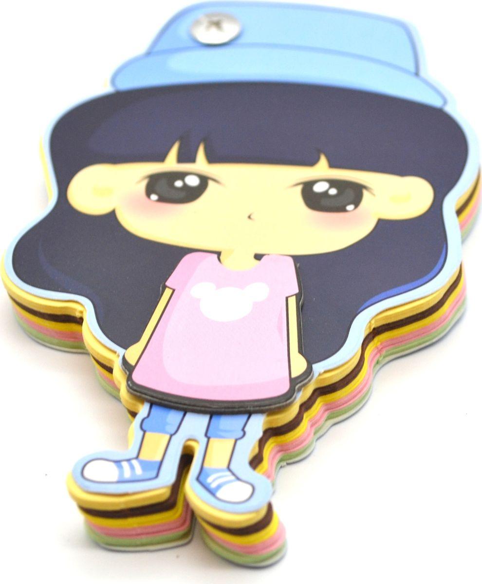 Карамба Блокнот Девочка в голубой шляпке 90 листов72523WDБлокнот выполнен в виде фигурки девочки. Состоит из 90 разноцветных листов.