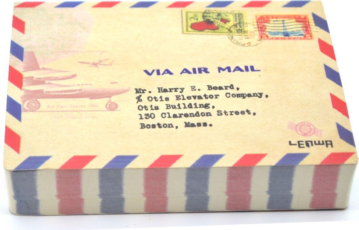 Карамба Блокнот Почта 4 200 листов72523WDБлокнот с 200 листами с принтом.