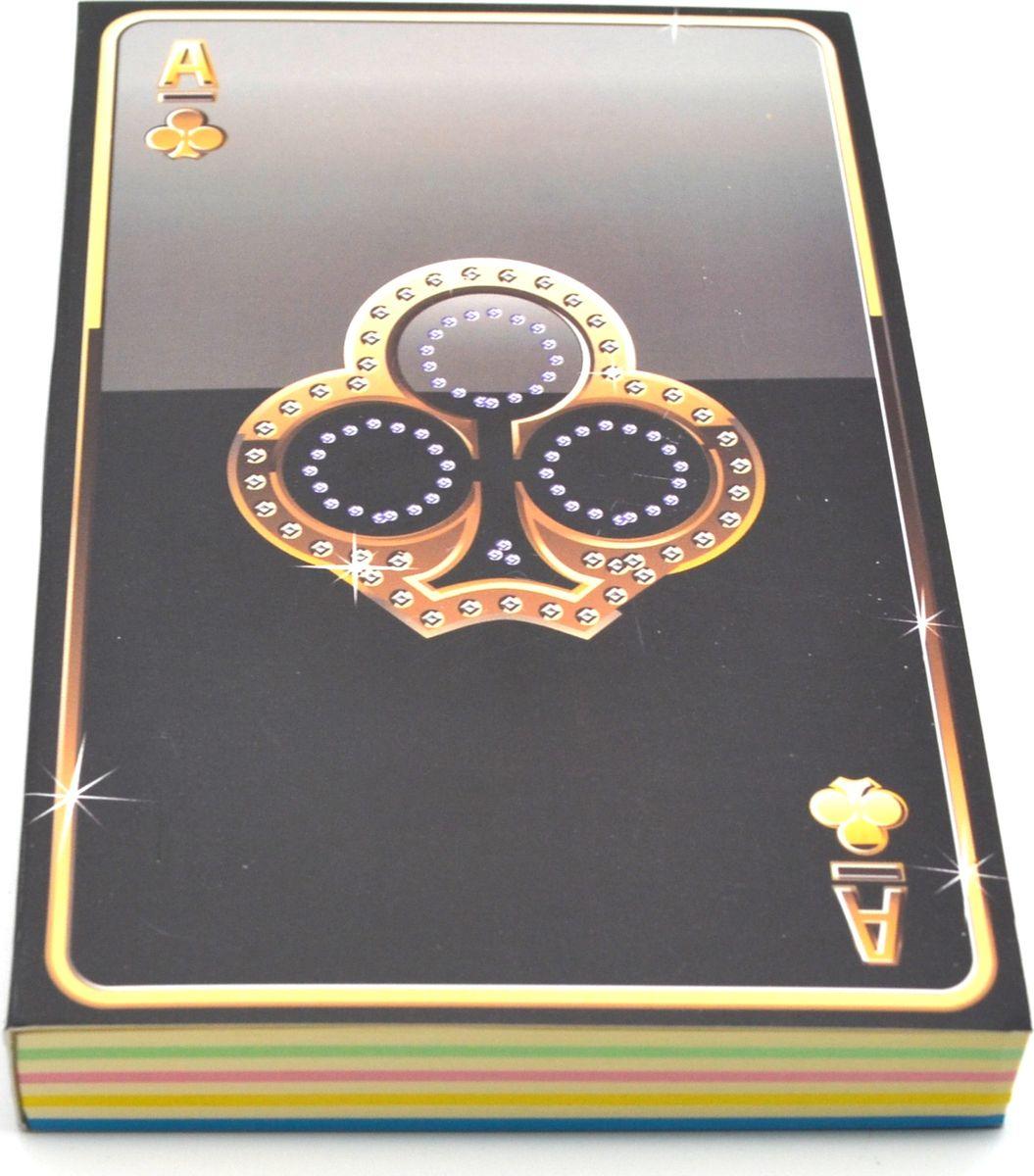 Карамба Блокнот Карты Трефы 192 листа72523WDБлокнот Карамба Карты Трефы - незаменимый атрибут современного человека, необходимый для рабочих и повседневных записей в офисе и дома. Блокнот содержит 192 листа.Блокнот станет достойным аксессуаром среди ваших канцелярских принадлежностей. Такой блокнот пригодится как для деловых людей, так и для любителей записывать свои мысли, писать мемуары или делать наброски новых стихотворений.