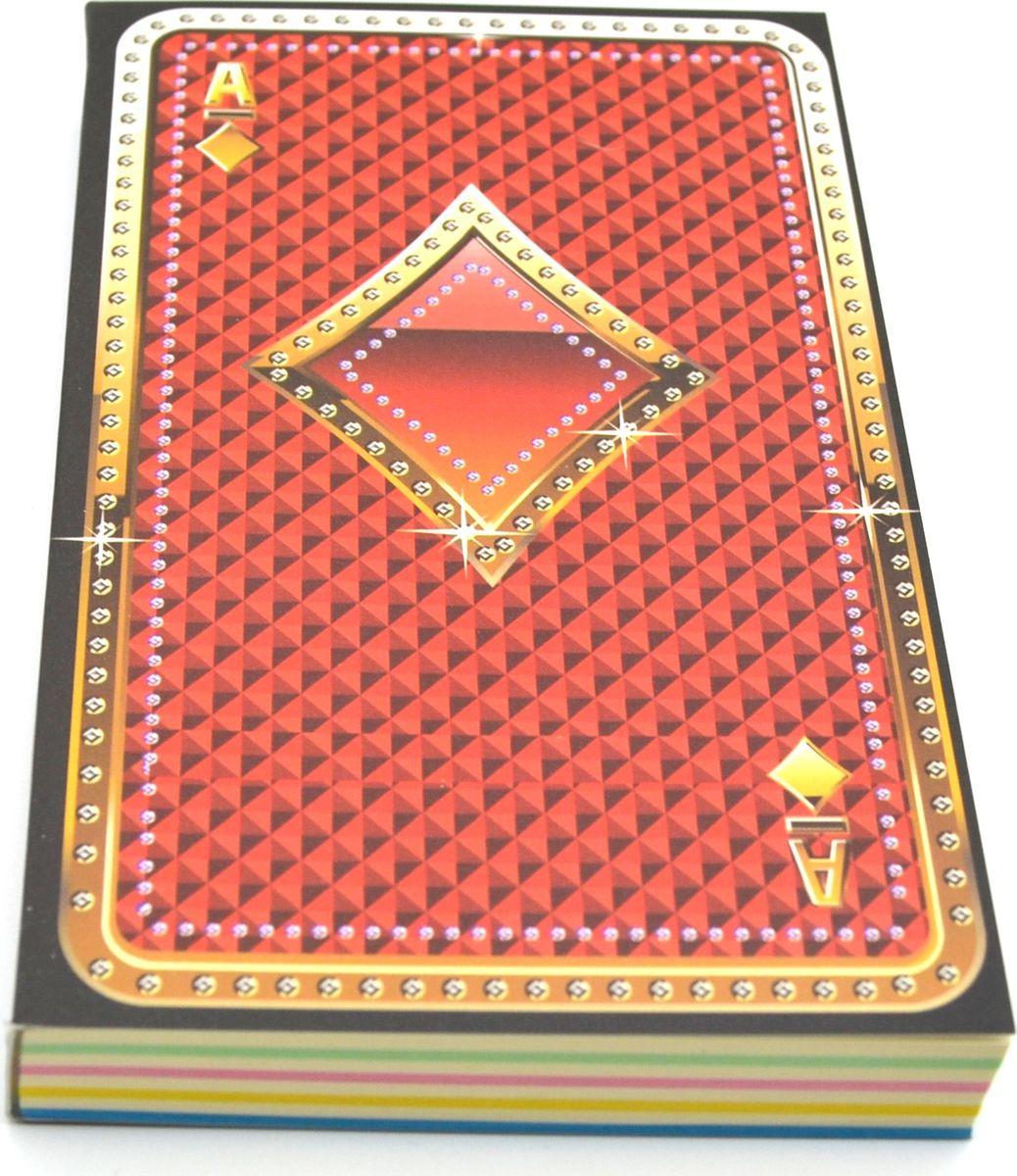 Карамба Блокнот Карты Бубны 192 листа72523WDБлокнот состоит из 192 цветных листов.