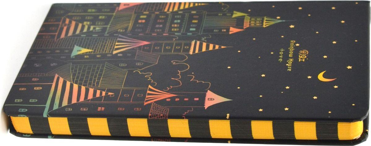 Карамба Блокнот Ночной город 80 листов в линейку -  Бумага и бумажная продукция