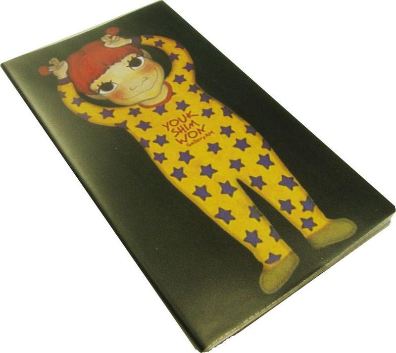 Карамба Блокнот Девочка в желтой пижаме 100 листов в линейку72523WDБлокнот в полиэтиленовой обложке со 100 линованными листами