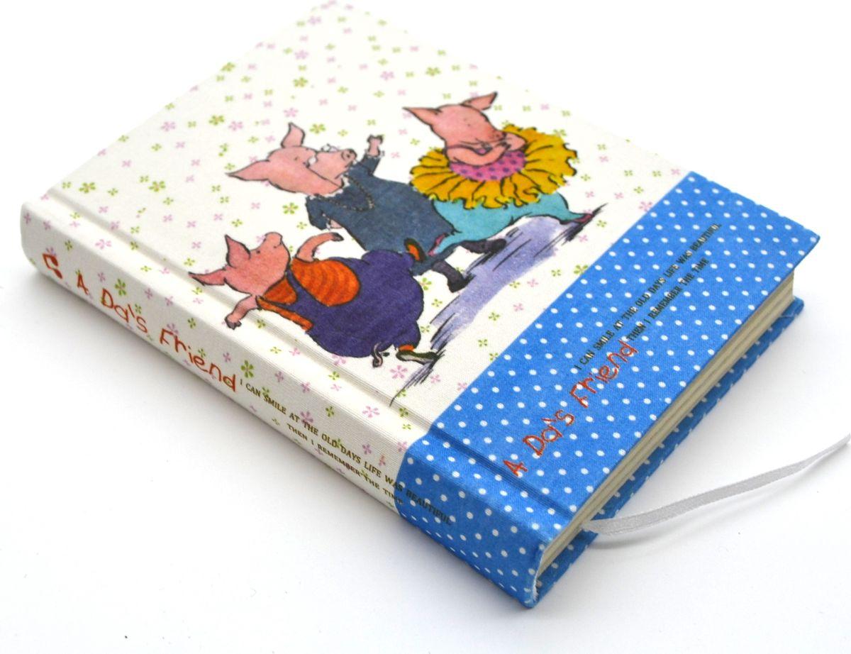 Карамба Блокнот Рисованные картинки 128 листов в линейку 411072523WDБлокнот с текстильной обложкой. Внутри 128 листов с принтом в виде забавных картинок