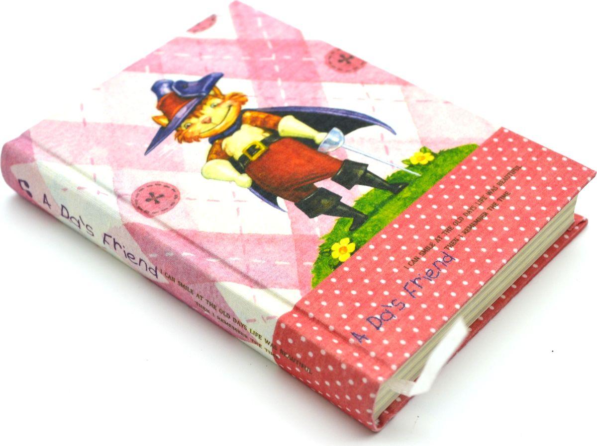 Карамба Блокнот Рисованные картинки 128 листов в линейку 411172523WDБлокнот с текстильной обложкой. Внутри 128 листов с принтом в виде забавных картинок