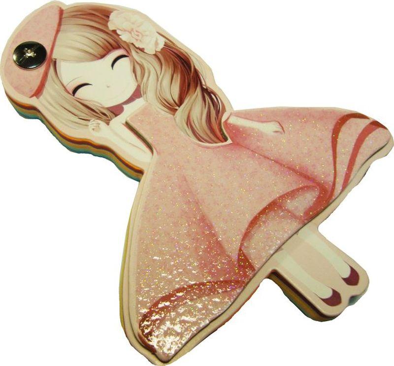 Карамба Блокнот Девочка Розовое платье 96 листовФК-Э-12-783Блокнот Карамба Девочка Розовое платье содержит 96 листов.Блокнот станет достойным аксессуаром среди ваших канцелярских принадлежностей.