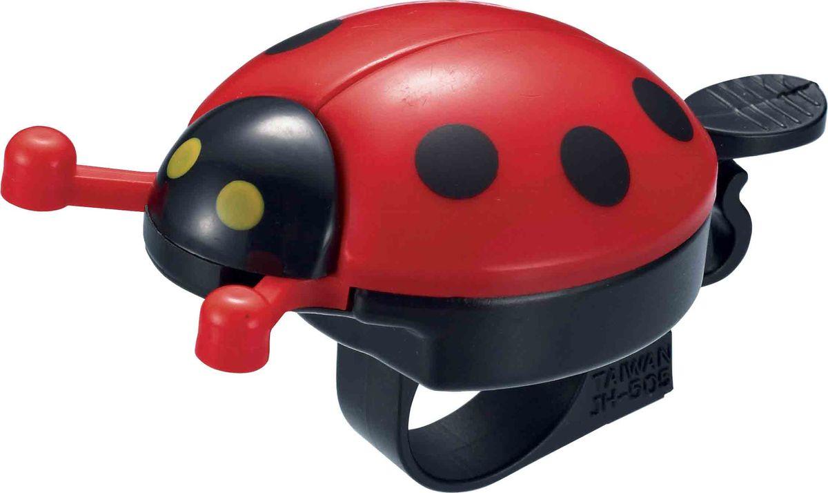 Звонок велосипедный Bike Attitude Жучок, на руль 22,2 мм, цвет: красныйDLL0-JH505R-2001Громкий и узнаваемый звук велосипедного звонкаBike Attitude Жучок поможет обозначить себя на дороге и сделать движение более безопасным. Широкий язычок звонка удобен при использовании даже в перчатках. Звонок устанавливается на рули диаметром от 19 до 26,4 мм.Безопасен для детейBike Attitude – это крупнейший Тайваньский производитель высококачественных велосипедных аксессуаров и запчастей. Уже более 10-и лет Bike Attitude представляет свои товары в 15 странах мира.