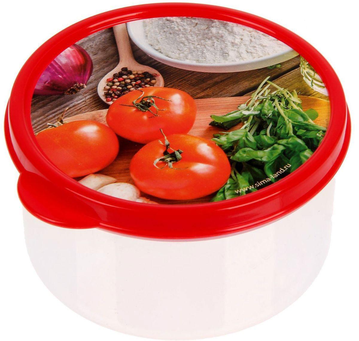 Ланч-бокс Доляна №3, круглый, 300 млVT-1520(SR)Если после вкусного обеда осталась еда, а насладиться трапезой хочется и на следующий день, ланч-бокс станет отличным решением данной проблемы!Такой контейнер является незаменимым предметом кухонной утвари, ведь у него много преимуществ:Простота ухода. Ланч-бокс достаточно промыть тёплой водой с небольшим количеством чистящего средства, и он снова готов к использованию.Вместительность. Большой выбор форм и объёма поможет разместить разнообразные продукты от сахара до супов.Эргономичность. Ланч-боксы очень легко хранить даже в самой маленькой кухне, так как их можно поставить один в другой по принципу матрёшки.Многофункциональность. Разнообразие цветов и форм делает возможным использование контейнеров не только на кухне, но и в других областях домашнего быта.Любители приготовления обеда на всю семью в большинстве случаев приобретают ланч-боксы наборами, так как это позволяет рассортировать продукты по всевозможным признакам. К тому же контейнеры среднего размера станут незаменимыми помощниками на работе: ведь что может быть приятнее, чем порадовать себя во время обеда прекрасной едой, заботливо сохранённой в контейнере?В качестве материала для изготовления используется пластик, что делает процесс ухода за контейнером ещё более эффективным. К каждому ланч-боксу в комплекте также прилагается крышка подходящего размера, это позволяет плотно и надёжно удерживать запах еды и упрощает процесс транспортировки.Однако рекомендуется соблюдать и меры предосторожности: не использовать пластиковые контейнеры в духовых шкафах и на открытом огне, а также не разогревать в микроволновых печах при закрытой крышке ланч-бокса. Соблюдение мер безопасности позволит продлить срок эксплуатации и сохранить отличный внешний вид изделия.Эргономичный дизайн и многофункциональность таких контейнеров — вот, что является причиной большой популярности данного предмета у каждой хозяйки. А в преддверии лета и дачного сезона такое приобретение позволит по