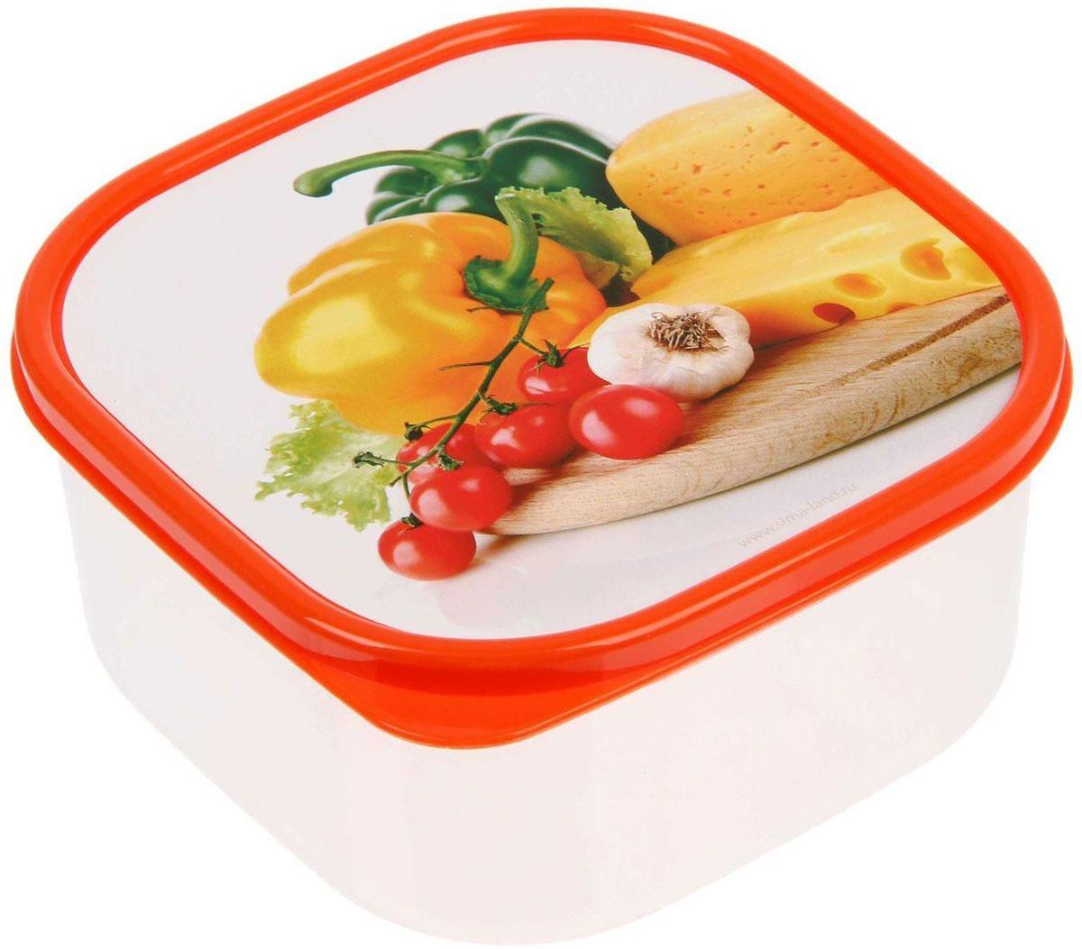 Ланч-бокс Доляна №8, квадратный, 700 млVT-1520(SR)Если после вкусного обеда осталась еда, а насладиться трапезой хочется и на следующий день, ланч-бокс станет отличным решением данной проблемы!Такой контейнер является незаменимым предметом кухонной утвари, ведь у него много преимуществ:Простота ухода. Ланч-бокс достаточно промыть тёплой водой с небольшим количеством чистящего средства, и он снова готов к использованию.Вместительность. Большой выбор форм и объёма поможет разместить разнообразные продукты от сахара до супов.Эргономичность. Ланч-боксы очень легко хранить даже в самой маленькой кухне, так как их можно поставить один в другой по принципу матрёшки.Многофункциональность. Разнообразие цветов и форм делает возможным использование контейнеров не только на кухне, но и в других областях домашнего быта.Любители приготовления обеда на всю семью в большинстве случаев приобретают ланч-боксы наборами, так как это позволяет рассортировать продукты по всевозможным признакам. К тому же контейнеры среднего размера станут незаменимыми помощниками на работе: ведь что может быть приятнее, чем порадовать себя во время обеда прекрасной едой, заботливо сохранённой в контейнере?В качестве материала для изготовления используется пластик, что делает процесс ухода за контейнером ещё более эффективным. К каждому ланч-боксу в комплекте также прилагается крышка подходящего размера, это позволяет плотно и надёжно удерживать запах еды и упрощает процесс транспортировки.Однако рекомендуется соблюдать и меры предосторожности: не использовать пластиковые контейнеры в духовых шкафах и на открытом огне, а также не разогревать в микроволновых печах при закрытой крышке ланч-бокса. Соблюдение мер безопасности позволит продлить срок эксплуатации и сохранить отличный внешний вид изделия.Эргономичный дизайн и многофункциональность таких контейнеров — вот, что является причиной большой популярности данного предмета у каждой хозяйки. А в преддверии лета и дачного сезона такое приобретение позволит