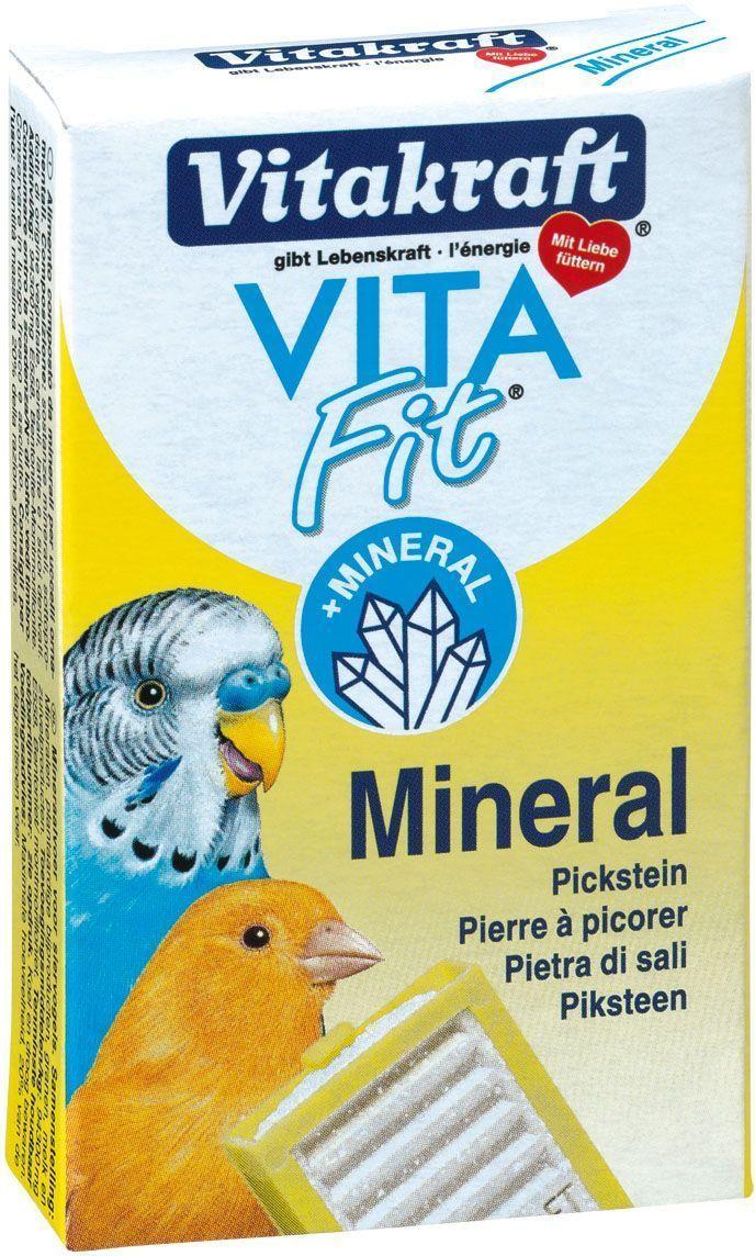 Камень для птиц Vitakraft, минеральный21327Камень обеспечивает организму оптимальное количество минеральных веществ. Рекомендуется для заточки клюва и в период линьки. Состав: минералы, молоко и молочные продукты, злаки. Анализ состава: 82% зола,3,7% влажность,30% кальций,1,4% фосфор,0,07% натрий. Товар сертифицирован.