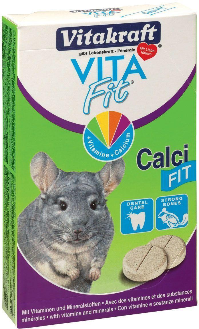 Камень для шиншилл Vitakraft Calci Fit, в таблетках, 85 г25067Камень для шиншилл обеспечивает необходимым количеством кальция ежедневно. Содержит витамины и минералы для здоровья костей и зубов. Состав: песок, картофель, крахмал, фосфат кальция, напудренное снятое молоко, силикат магния, мука пшеницы, витамин А, Д3. Товар сертифицирован.