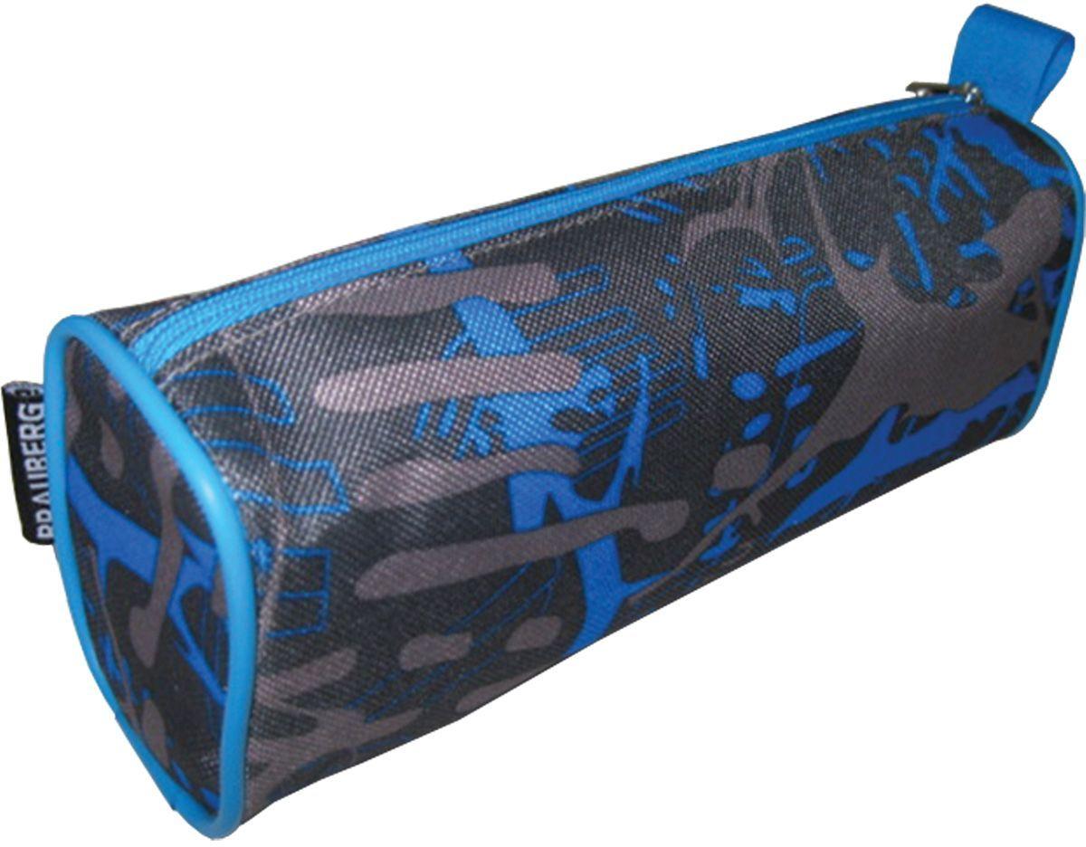 Brauberg Пенал-косметичка Элемент72523WDУдобный, легкий и вместительный пенал-косметичка выполнен в серо-синих тонах и отличается практичностью.•1 отделение. •Материал - полиэстер. •Размер: 21х6х8 см.